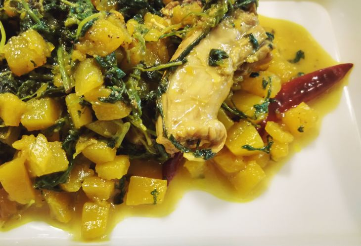 chicken-with-greens-and-pumpkin