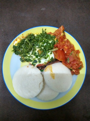 Marinara Sauce and Eggs