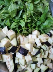 Eggplant and Basella
