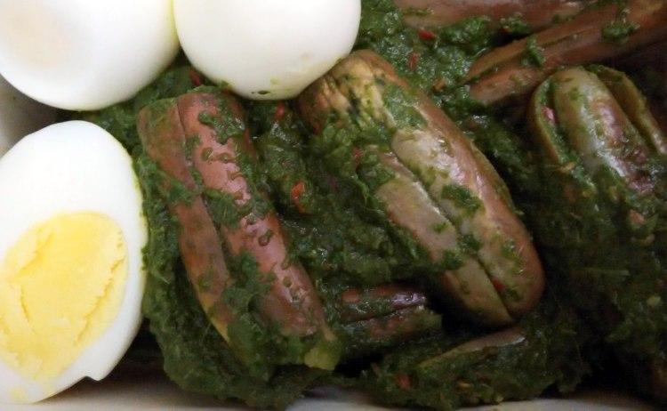 brinjal-in-spinach-sauce