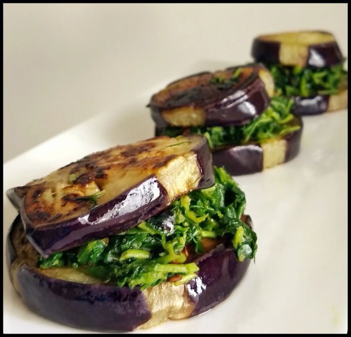 Aubergine Sandwich