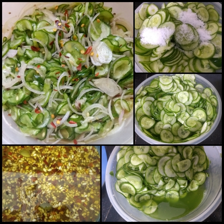 Cucumber Honey Mustard