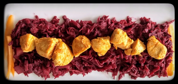 Chicken with Mustard Beets