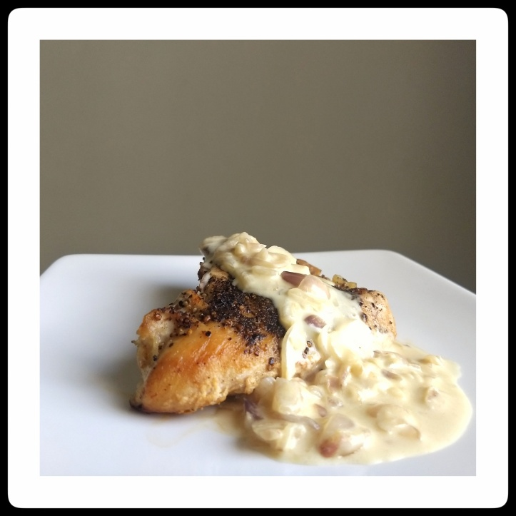 Chicken with Creamy Shallots